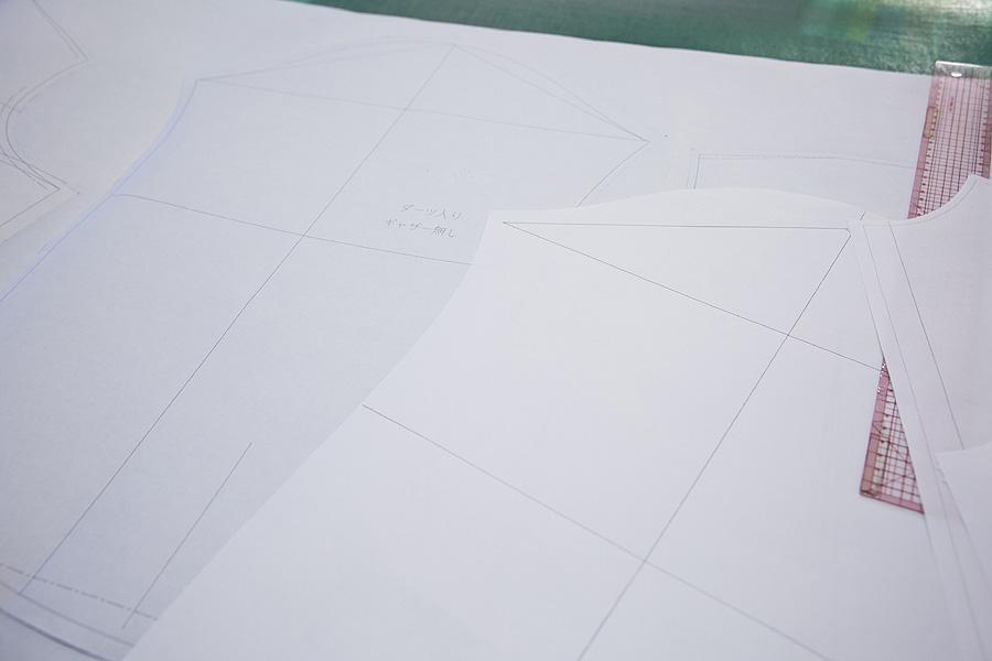 南シャツ_原寸大の型紙